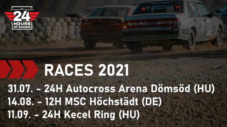 Races 2021 published